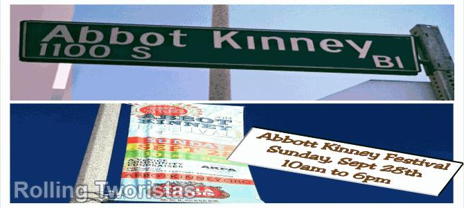 Abbott Kinney 30 Aniv Fest 2014 - Rolling Tworistas Blog