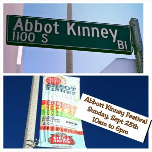 Abbott Kinney 30 Aniv Fest 2014 collage Abbot Kinney Boulevard celebrates its 30th Anniversary Festival.
