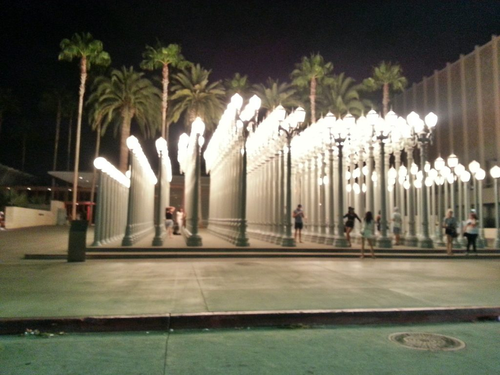 LACMA Museum AT night Rolling Tworistas 1024x768 Guide to the SoCal Museums Free For All Program