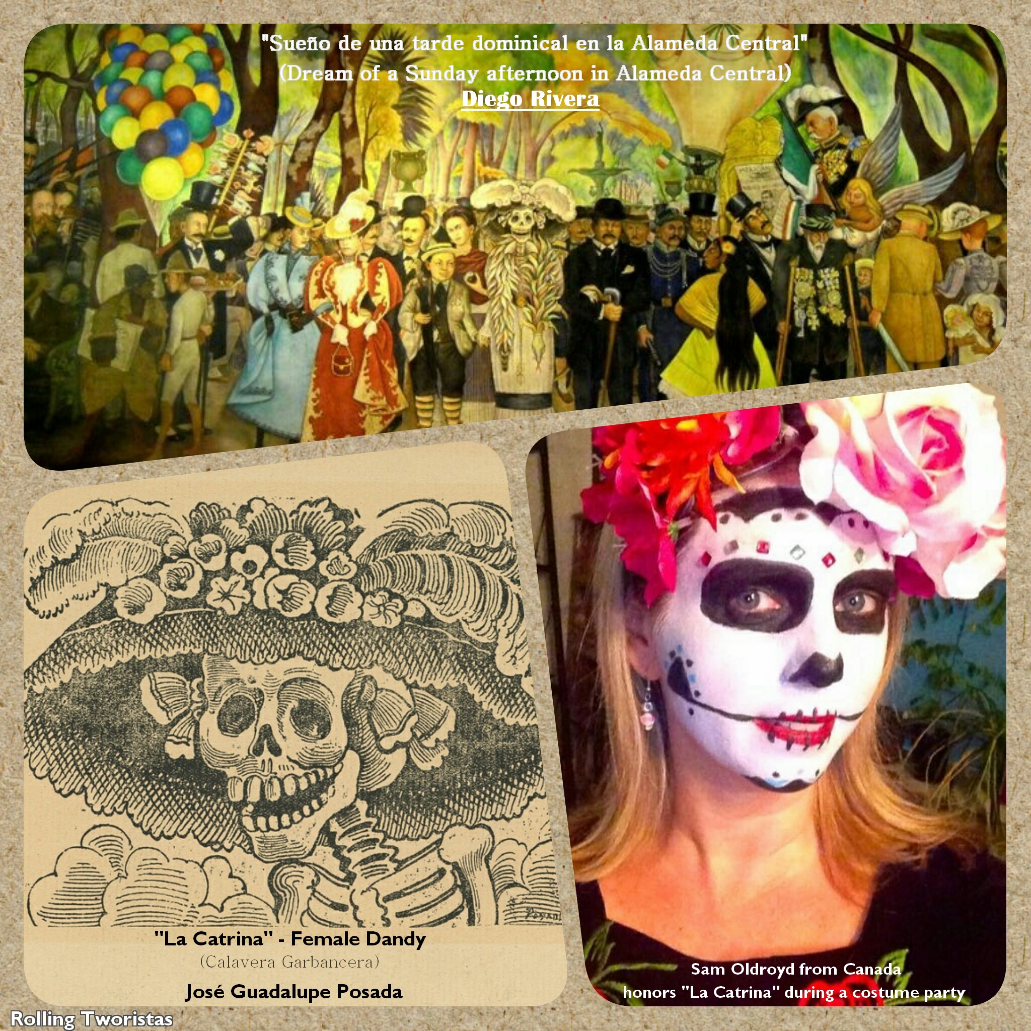 La Garbancera (La Catrina) José Guadalupe Posada and his illustrations; A Mexican legacy for International Heritage