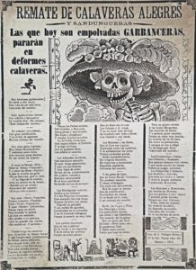 La Garbancera José Guadalupe Posadas 1 218x300 La Garbancera (La Catrina) José Guadalupe Posada and his illustrations; A Mexican legacy for International Heritage